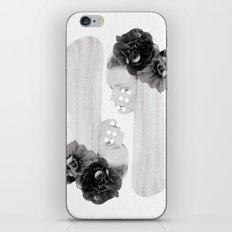 selene and eos (black and white) iPhone & iPod Skin
