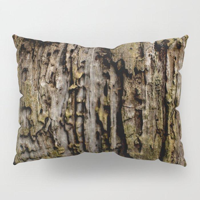 Old Wood Close up Pillow Sham