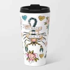 Feminist Valentine Metal Travel Mug