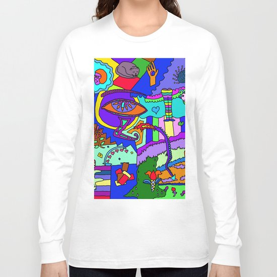 Abstract 19 Long Sleeve T-shirt