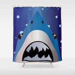 Shark Bait Shower Curtain