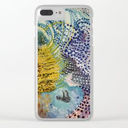 Manifestation of a Conscious Mind Clear iPhone Case