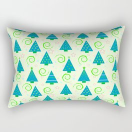 Christmas , Christmas tree 1 Rectangular Pillow