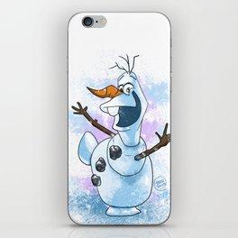 The lovable Olaf iPhone Skin