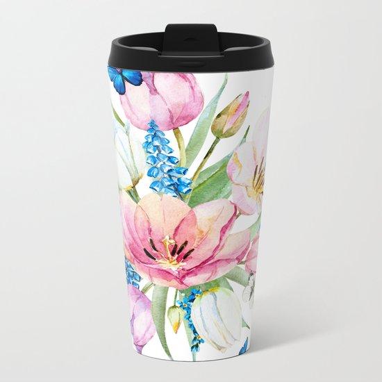Spring is in the air #35 Metal Travel Mug