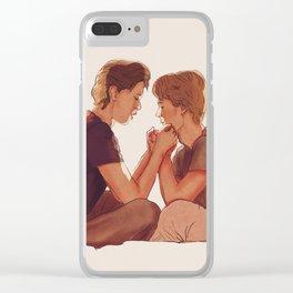 Even + Isak : Minutt for Minutt Clear iPhone Case