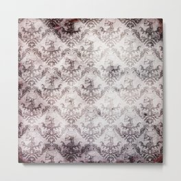 Bloodstained Baroque Metal Print