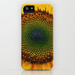 Sunflower & Seed iPhone Case