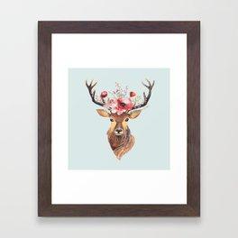 Bohemian Deer 2 Framed Art Print