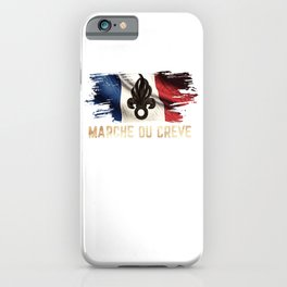 March Ou Creve - French Legion iPhone Case