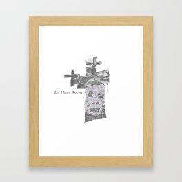 Chromed Cross 1 Framed Art Print