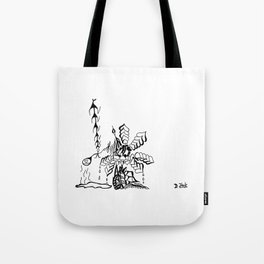 Abstraction 10.0 Tote Bag