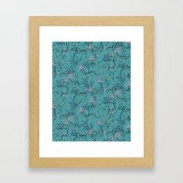 Mamba! in pastel tones Framed Art Print