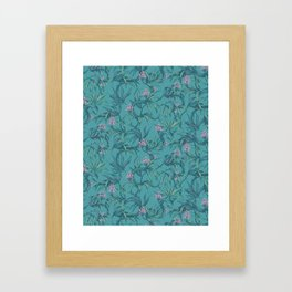 Mamba! in pastel tones Framed Art Print