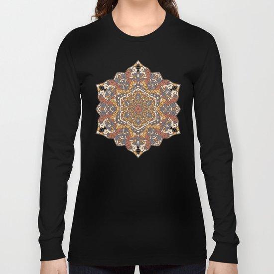 Vintage Mandala Flower Decoration 1 Long Sleeve T-shirt