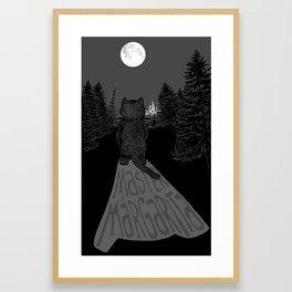 Behemoth the Cat (Master and Margarita) Framed Art Print