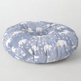 Yellowstone (Tide) Floor Pillow