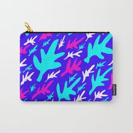Abstract artistic cute playful leaf shapes design. Carry-All Pouch