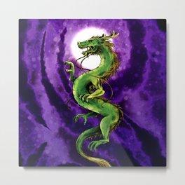 Chinese Zodiac: The Dragon Metal Print