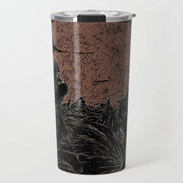 The Rock Werewolf Travel Mug