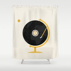 A New World Record Shower Curtain