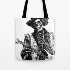 The Legend of Guitarist Tote Bag
