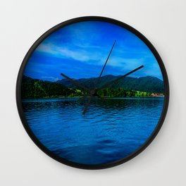 Bavaria Lake Schliersee Wall Clock