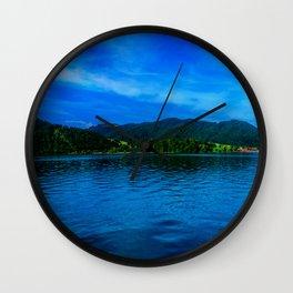 Bavaria Lake Schliersee Wall Clock