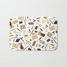 Creative Artist Tools - Watercolor Bath Mat