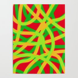 lively lines Poster