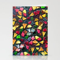 mosaic Stationery Cards featuring Mosaic by Klara Acel