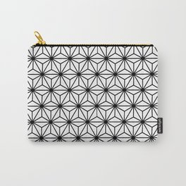 Geometric Flowers and Florals Isosceles Triangle Carry-All Pouch