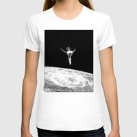 apollonia T-shirts featuring asc 579 - Le vertige (Gaze into the abyss) by From Apollonia with Love