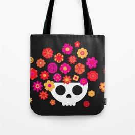 Skull Bowl Tote Bag
