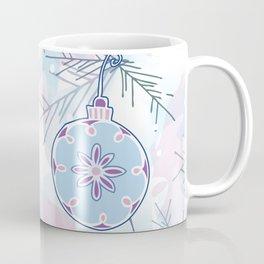 Vintage Christmas Ornaments Coffee Mug