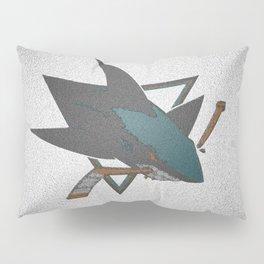 Sharks Logo Pillow Sham