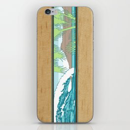Ala Moana Diamond Head Hawaiian Surf Sign iPhone Skin