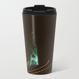Bridge Tower at Night Travel Mug