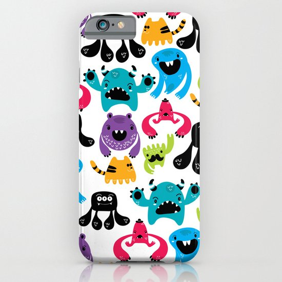 Monster pattern iPhone & iPod Case