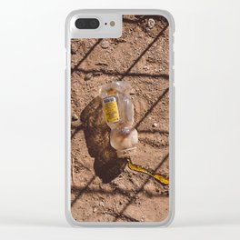 Spilt Honey Clear iPhone Case