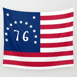 American Bennington flag - Authentic scale and color Wall Tapestry