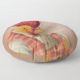 Punx Not Dead Floor Pillow