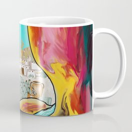 Modern Desert Art Coffee Mug