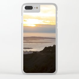 View of the San Francisco Bay Area from Grizzly Peak Clear iPhone Case