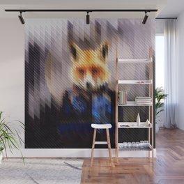 Winter Fox Wall Mural