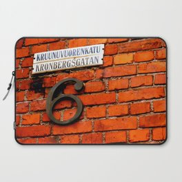 Beautiful Finnish Streets Laptop Sleeve