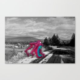 Unseen Monsters of Mount Shasta - Rossivink Deshla Canvas Print