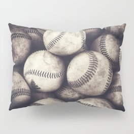 Bucket of Baseballs Pillow Sham