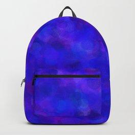 Ultramarine Blue with Purple Pattern Backpack