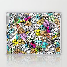 Gemstone Pugs Dogs Laptop & iPad Skin